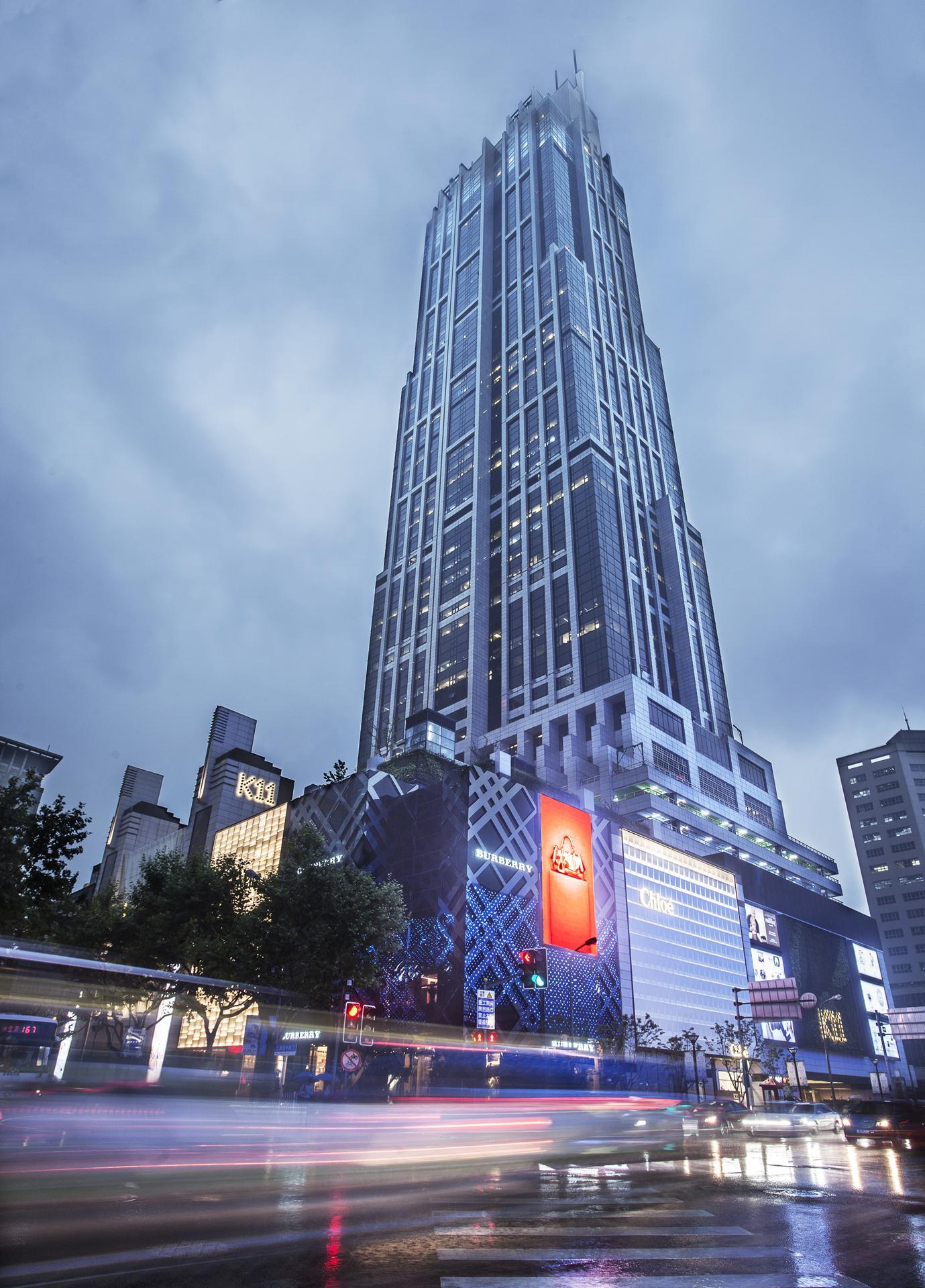 商务会所_上海香港新世界大厦