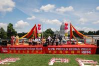 "NWCL organises the ""New World China Week""  campaign in Washington D.C., U.S.A., to promote intangible cultural heritage."