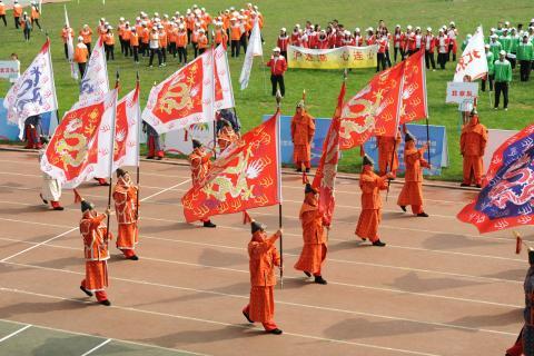 新世界中国地产2016全国运动会在沈阳隆重举行