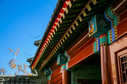 The Rebuilding Project of Cao Xueqin Residence in Beijing Completed